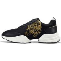 Schuhe Herren Sneaker Low Ed Hardy - Caged runner tiger black-gold Schwarz