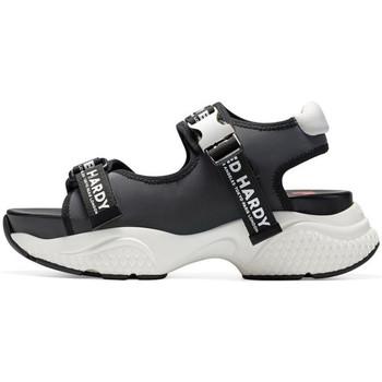 Schuhe Damen Sportliche Sandalen Ed Hardy - Aqua sandal iridescent charcoal Grau