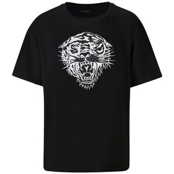 Kleidung Herren T-Shirts Ed Hardy - Tiger-glow t-shirt black Schwarz