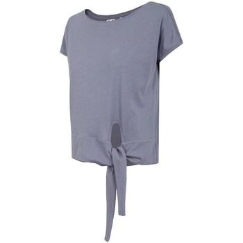 Kleidung Damen T-Shirts 4F TSD023 Violett