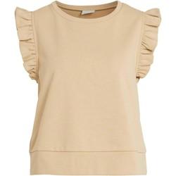 Kleidung Damen Sweatshirts Vila  Beige