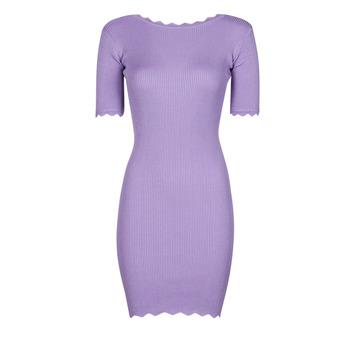 Kleidung Damen Kurze Kleider Yurban PAULINO Violett