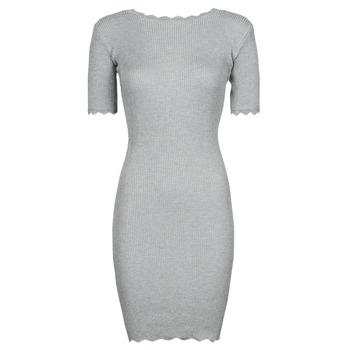 Kleidung Damen Kurze Kleider Yurban PAULINO Grau