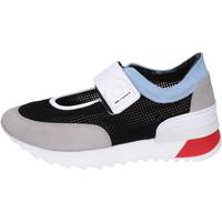 Schuhe Damen Slip on Agile By Ruco Line BH404 Schwarz