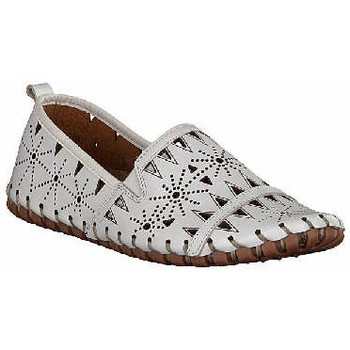 Schuhe Damen Slipper Gemini  weiß