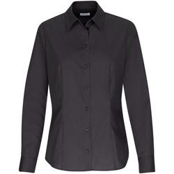 Kleidung Damen Tops / Blusen Seidensticker Schwarze Rose 60.645942 Schwarz