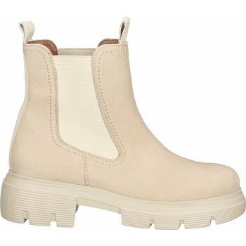Schuhe Damen Ankle Boots Paul Green Stiefelette Beige