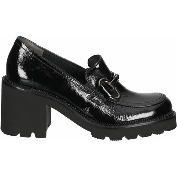 Schuhe Damen Slipper Paul Green Pumps Schwarz Lack