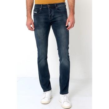Kleidung Herren Slim Fit Jeans True Rise Slim Hosen Blau