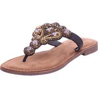 Schuhe Damen Zehensandalen Queens - 8297 schwarz