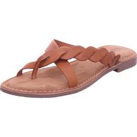 Schuhe Damen Pantoffel Queens - 5196 braun