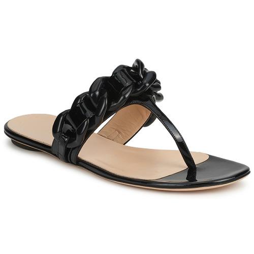 Schuhe Damen Zehensandalen Versus by Versace FSD364C Schwarz