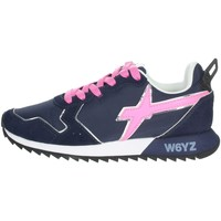Schuhe Damen Sneaker Low W6yz 0012013563.01. Blau/Fuchsia