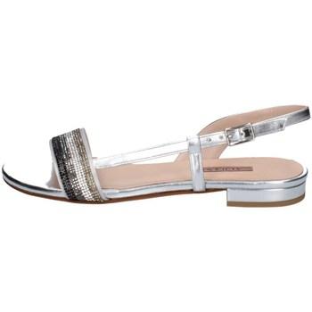 Schuhe Damen Sandalen / Sandaletten Albano 4125 SILBER