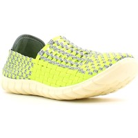 Schuhe Damen Slip on Rock Spring 870016 Gelb