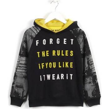 Kleidung Kinder Sweatshirts Losan 623 6003AA Schwarz