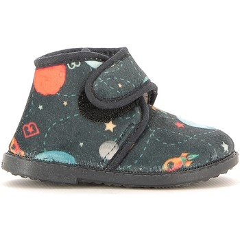 Schuhe Kinder Hausschuhe Blaike BI010003S Blau