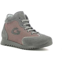 Schuhe Mädchen Sneaker High Alberto Guardiani GK22340G Grau