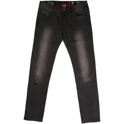 Kleidung Herren Straight Leg Jeans Gaudi 721BU26044 Schwarz