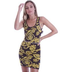 Kleidung Damen Kurze Kleider Versace B4HVB81050414KA9 Schwarz