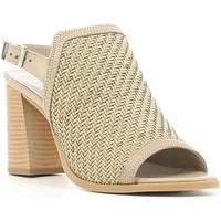 Schuhe Damen Sandalen / Sandaletten Keys 5427 Beige