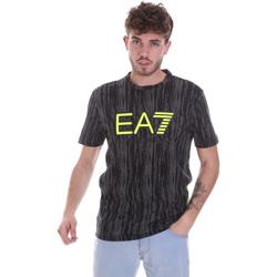 Kleidung Herren T-Shirts Ea7 Emporio Armani 6HPT04 PJB1Z Schwarz