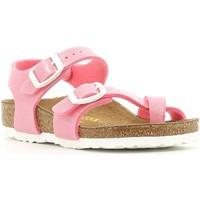 Schuhe Mädchen Sandalen / Sandaletten Birkenstock 371603 Rosa