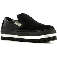 Schuhe Damen Slip on Fornarina PIFXR8934WJA0000 Schwarz