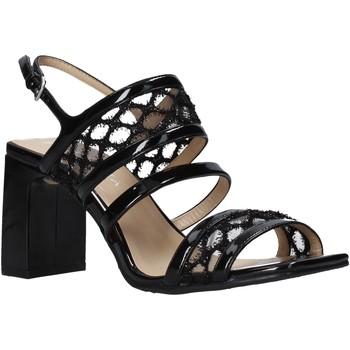 Schuhe Damen Sandalen / Sandaletten Apepazza S0MONDRIAN08/PAT Schwarz