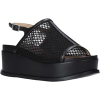 Schuhe Damen Sandalen / Sandaletten Apepazza S0CHER04/NET Schwarz