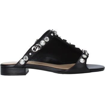 Schuhe Damen Pantoffel Apepazza S0PETIT09/LEA Schwarz
