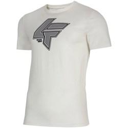 Kleidung Herren T-Shirts 4F TSM010 Weiß