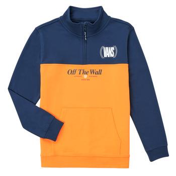 Kleidung Mädchen Sweatshirts Vans SOLAL Blau / Gelb