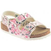 Schuhe Mädchen Sandalen / Sandaletten Nobrand ART 257A205S/R sandale Multicolor