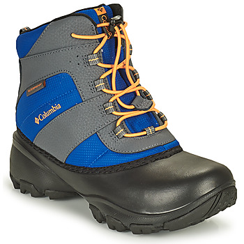 Schuhe Kinder Wanderschuhe Columbia YOUTH ROPE TOW BOY Blau / Orange
