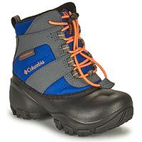 Schuhe Kinder Schneestiefel Columbia CHILDRENS ROPE TOW Blau / Orange