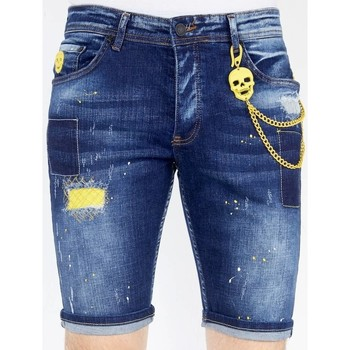 Kleidung Herren Shorts / Bermudas Local Fanatic Kurze Jeans Blau