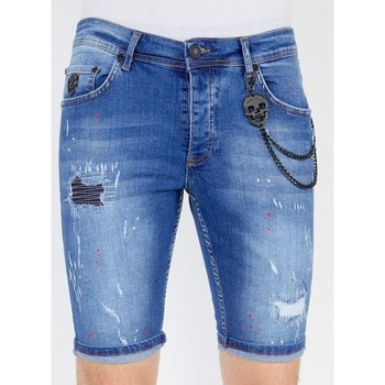 Kleidung Herren Shorts / Bermudas Local Fanatic Shorts Jeans Blau