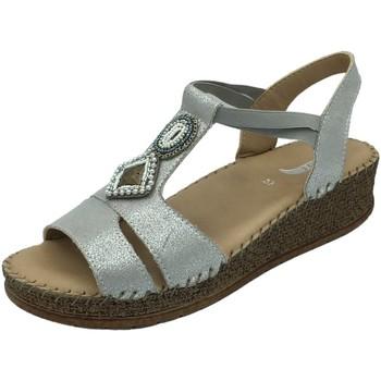 Schuhe Damen Sandalen / Sandaletten Jenny By Ara Sandaletten MARRAKESCH 22-17732-05 silber