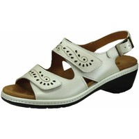 Schuhe Damen Sandalen / Sandaletten Aco Sandaletten eierschale 120/5395 290 white weiß
