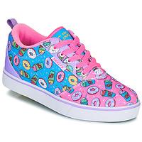 Schuhe Kinder Rollschuhe Heelys Pro 20 Rose / Lavendel / Blau