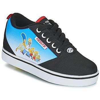 Schuhe Kinder Rollschuhe Heelys Pro 20 Prints Schwarz / Blau / Multicolor