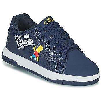 Schuhe Kinder Rollschuhe Heelys Split Blau