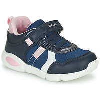 Schuhe Jungen Sneaker Low Geox B PILLOW Blau