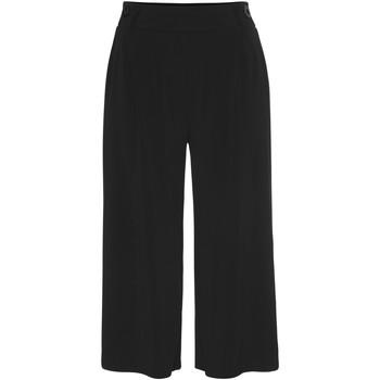Kleidung Damen 3/4 Hosen & 7/8 Hosen Lascana Basic-Hose kurz Perlschwarz
