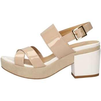 Schuhe Damen Sandalen / Sandaletten Bottega Lotti 9981 NACKT