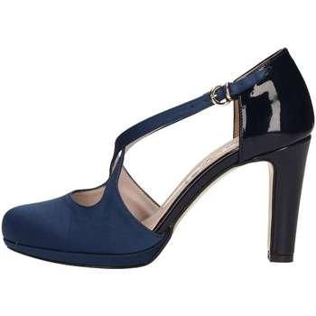 Schuhe Damen Pumps Bottega Lotti 957003 BLAU