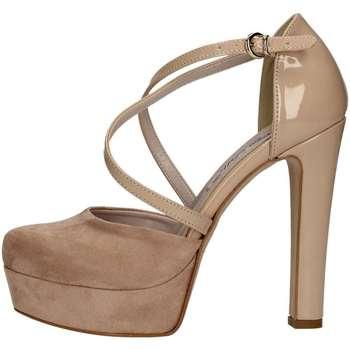 Schuhe Damen Pumps Bottega Lotti 725GE003 NACKT