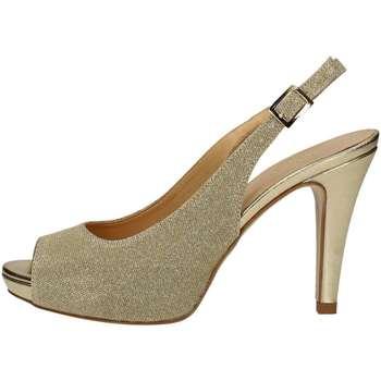 Schuhe Damen Sandalen / Sandaletten Bottega Lotti 1801 PLATIN