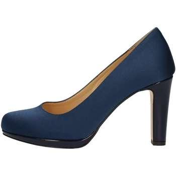 Schuhe Damen Pumps Bottega Lotti 1600 BLAU